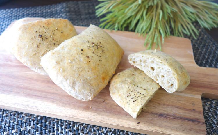 ≪基本のパン≫とろろ昆布のリュスティック 旨味UP!