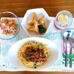 【家庭料理の基本】ミートソース、押し麦マリネなど