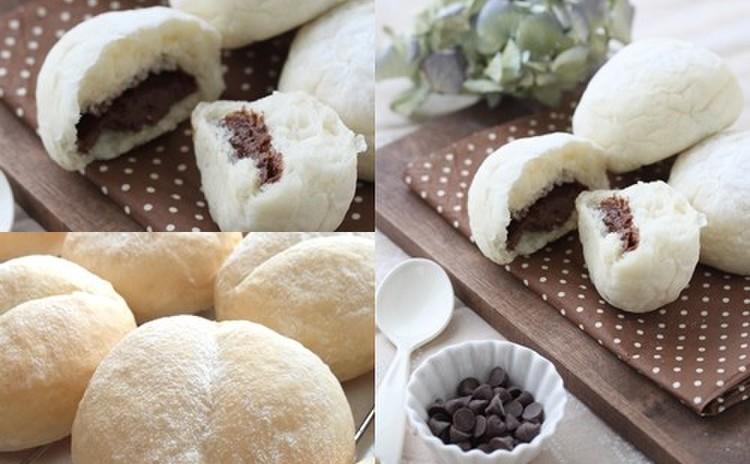 こねなくても翌日もふわふわ~ハイジの白パン、本格的チョコクリーム入りも