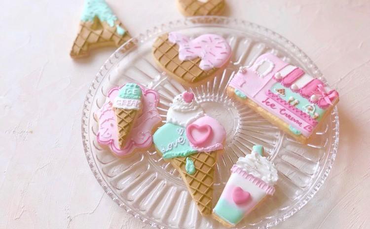 【7月8月限定】夏のアイスクリームホリック♪アイシングクッキー