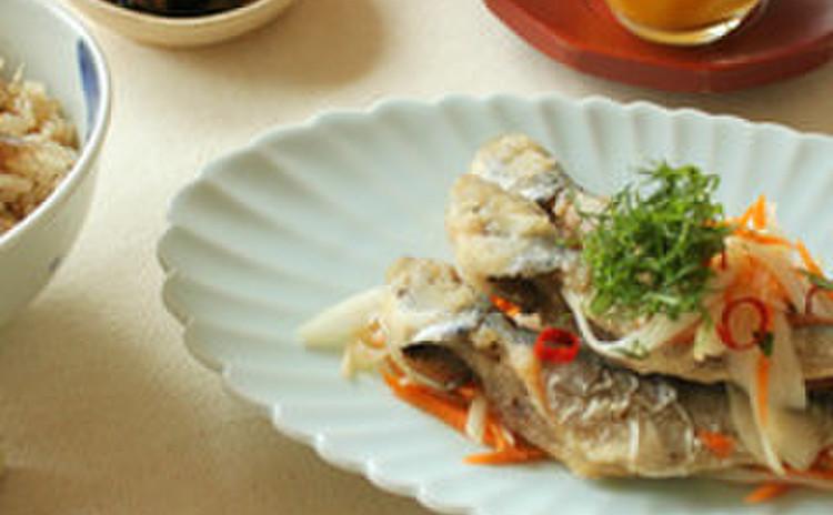 鯵の南蛮漬け鉄板レッスン♫和食の基礎を学びませんか?