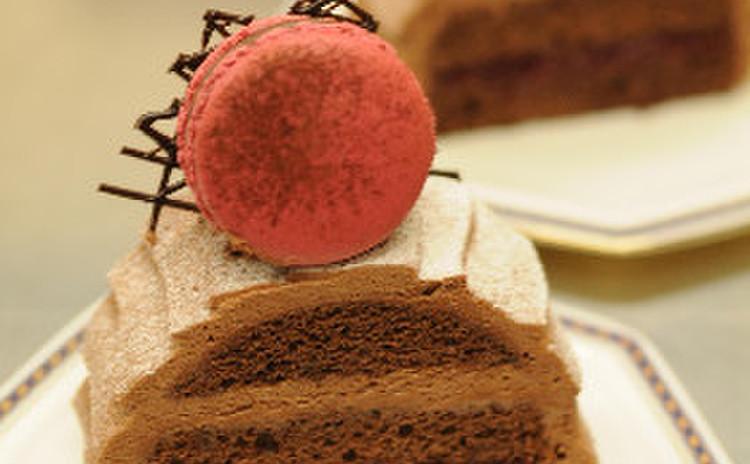 ラズベリー・チョコレート・ケーキ
