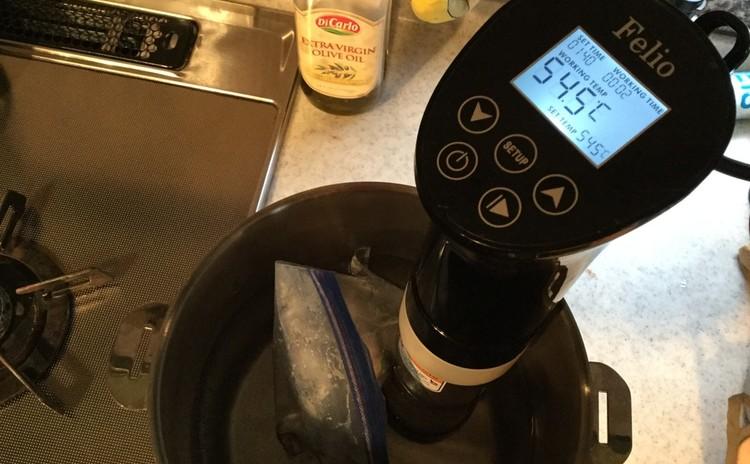 夏!レモンでパスタ・パプリカのムース・低温調理器使いたんぱく質料理学ぶ