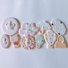 アイシングクッキー基礎レッスン③④お土産付き♪