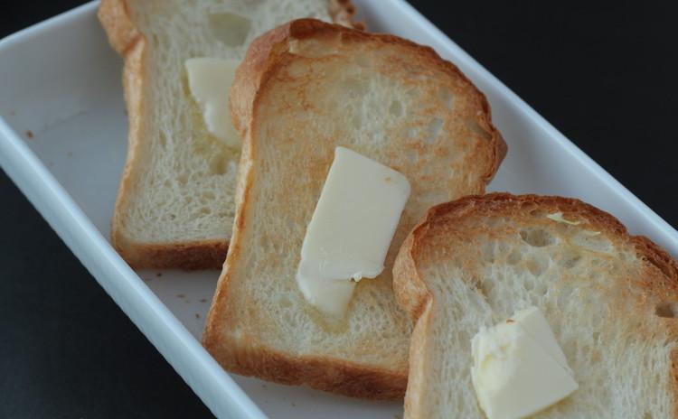 基本のミニ食パン&ミニカスタード
