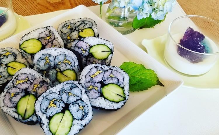 季節の巻き寿司