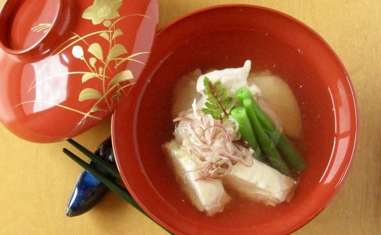 鶏の吉野汁(デモ)