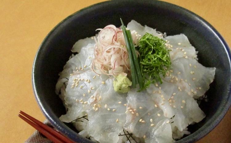 お刺身の切り方〜丼の盛り方(実習)
