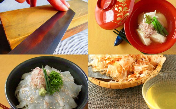 正しい包丁の研ぎ方と基本の包丁の使い方、和食の基本お出汁の取り方