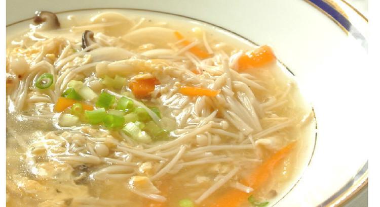 酸辣湯(サンラータン)スープ