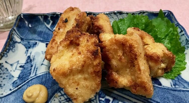 豆腐の竜田揚げ