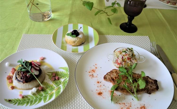 旬を味わう野菜たっぷり料理