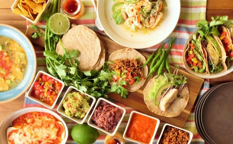 メキシコ祭り開催!全10品 (リバイバルレッスン)