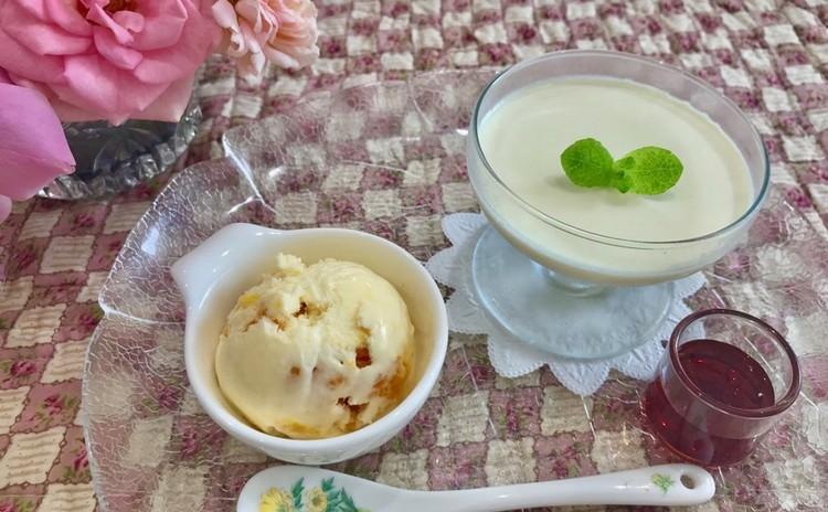 豆乳のパンナコッタ