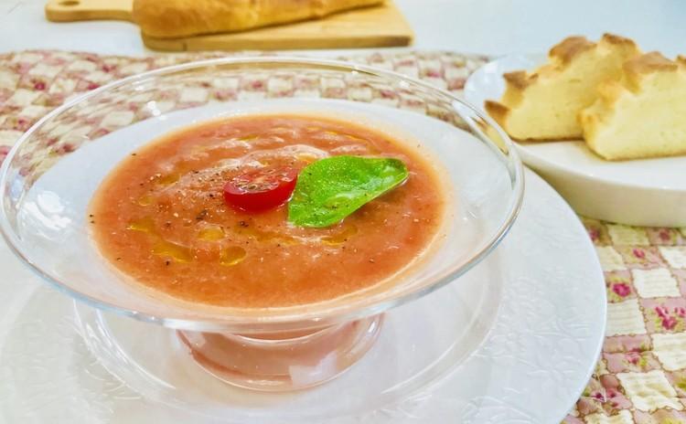 トマトのシャーベットスープ