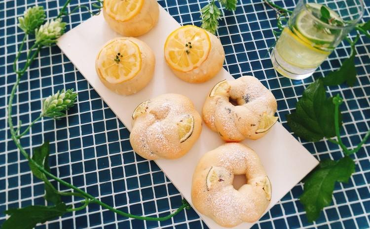 『夏の爽やかパン』はちみつレモン&ライムミント(6個お持ち帰り)