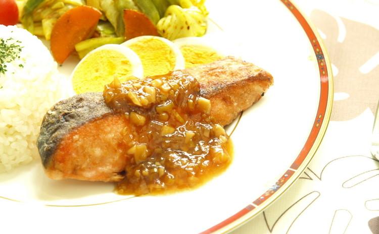 魚のムニエル香味ソース