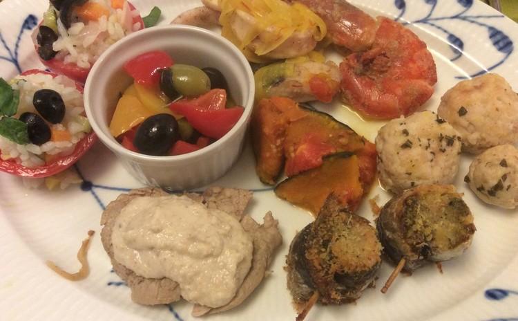 イタリア各地の郷土料理で学ぶ 夏のアンティパストとパスタの会