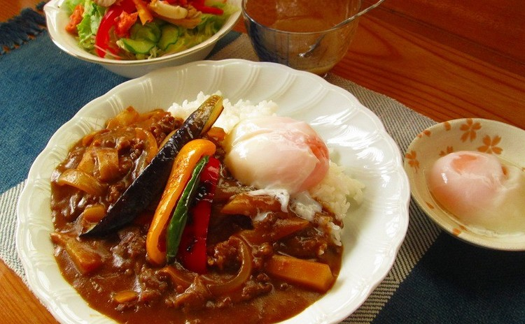 お料理の基本1を学ぶ!彩り野菜の時短カレー、野菜スープ、野菜サラダの洋