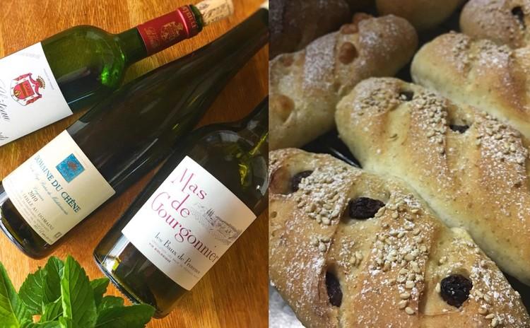 ワイン選びの基本と、ワインに合うライ麦入りパンのつくりかた