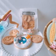 焼き菓子&サマーアイシングクッキーレッスン♪