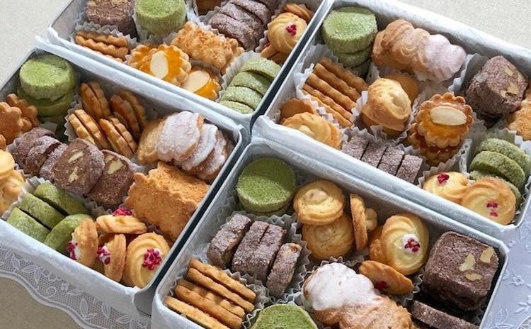 可愛い~6種類のクッキーが入った缶入りクッキーを作りましょう。