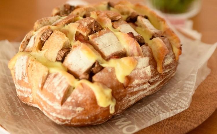 【リクエスト】自家製りんご酵母のカンパーニュ こだわりランチ付き