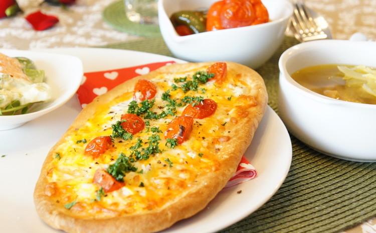 世界三大料理!『トルコ料理』に触れるデリご飯『ピザ』&『ドルマ』+α