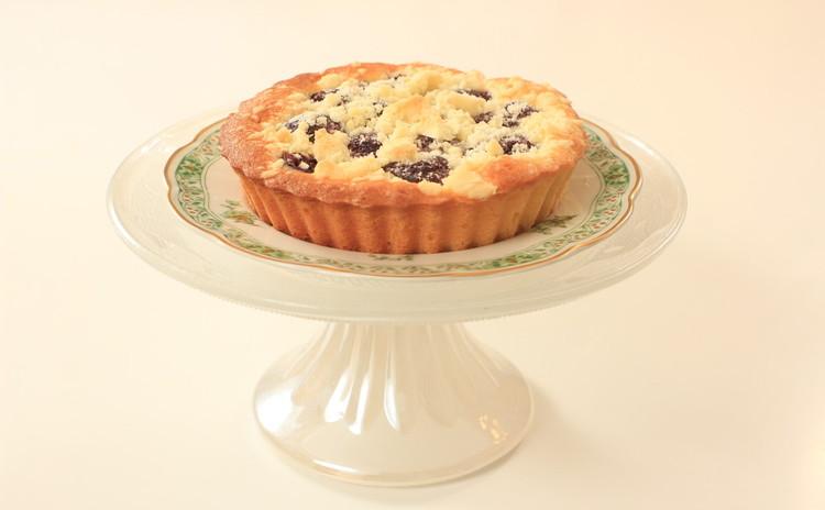 ふわふわシトラスシフォンケーキ&チェリーのクランブルケーキ