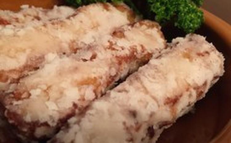 テンペと豚肉の竜田揚げ