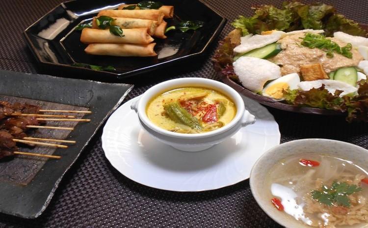 真盛りの夏に食べたい  インドネシア料理