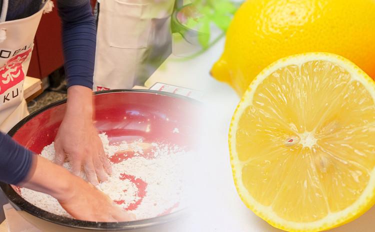 夏のレモン切り!そば打ち体験レッスン開催