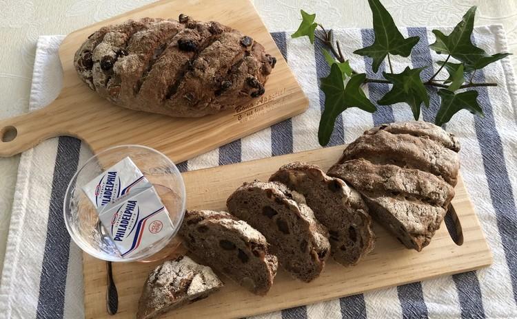 ライ麦生地で作る2種類のパン「パン ド セーグル」・「ノアレザン」