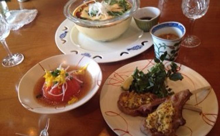 9月9日はご節句の重陽、菊の節句。重陽のテーブルと食事をお伝えします。