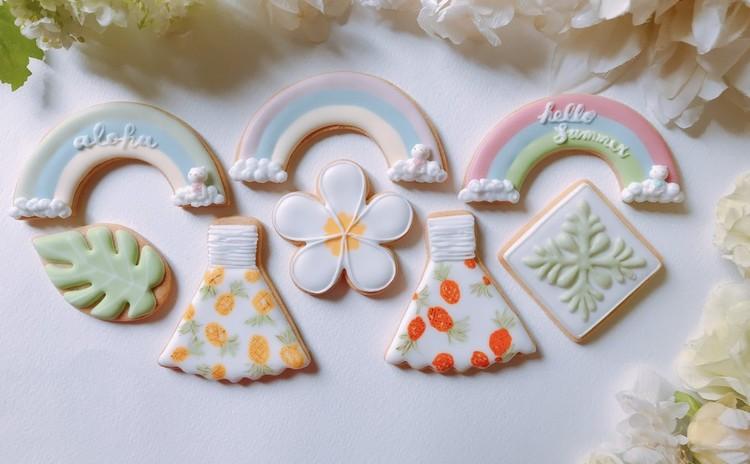 ハワイアンアイシングクッキーレッスン♪