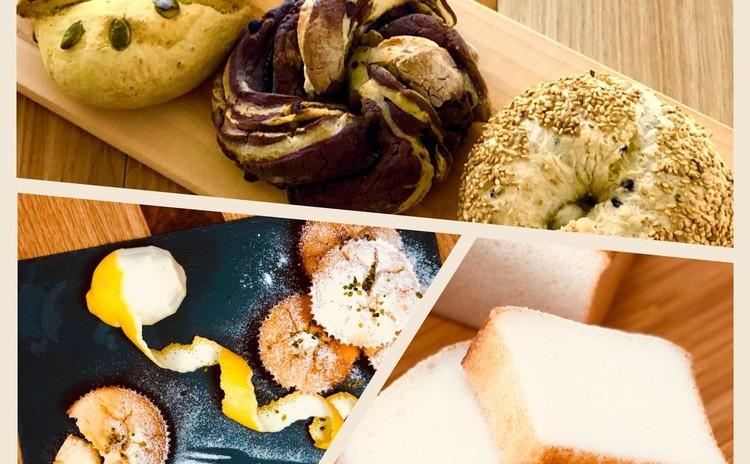 【リクエスト】お纏めレッスン!ベーグル,レモンマフィンと基本の米粉パン