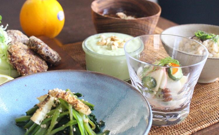 「☆麹☆菌活☆簡単!涼しく時短!オススメ普段料理」と「ベジミンチカツ」