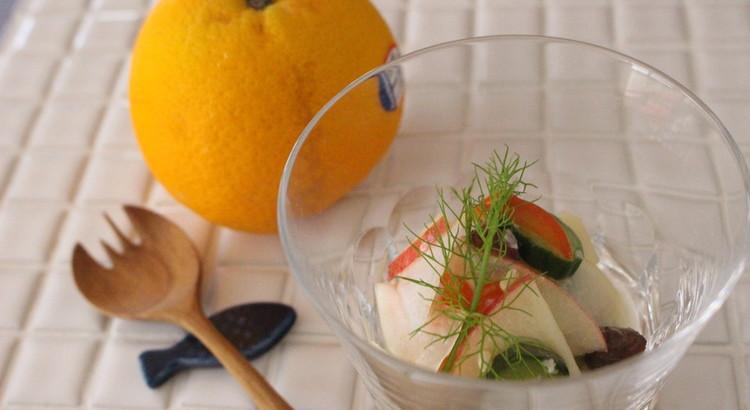 麹ドレッシング、さわやか野菜サラダ