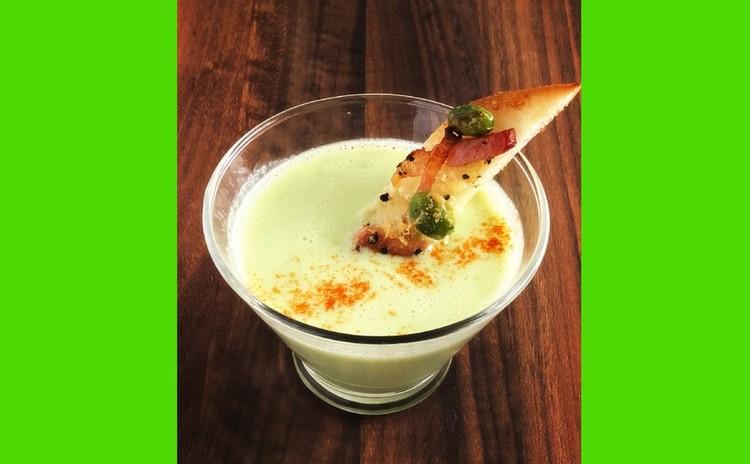 枝豆サワースープ