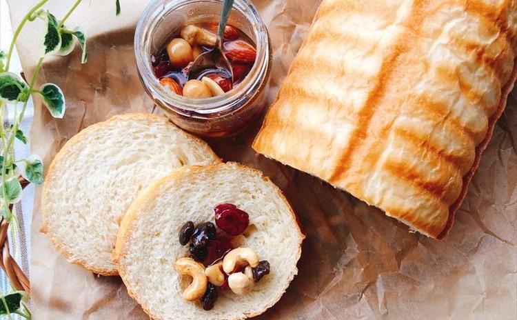 大人気💛「生」食パン&ハニーナッツをご自宅で作ってみませんか!!
