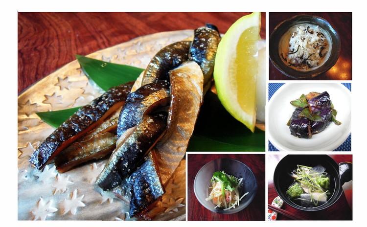 秋を楽しむ和食の一汁三菜・第一弾!料理人が教える秋が旬の定番料理たち。