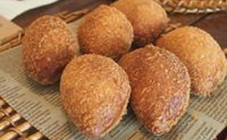【パン】魅惑のおうち「カレーパン」揚げ&焼き
