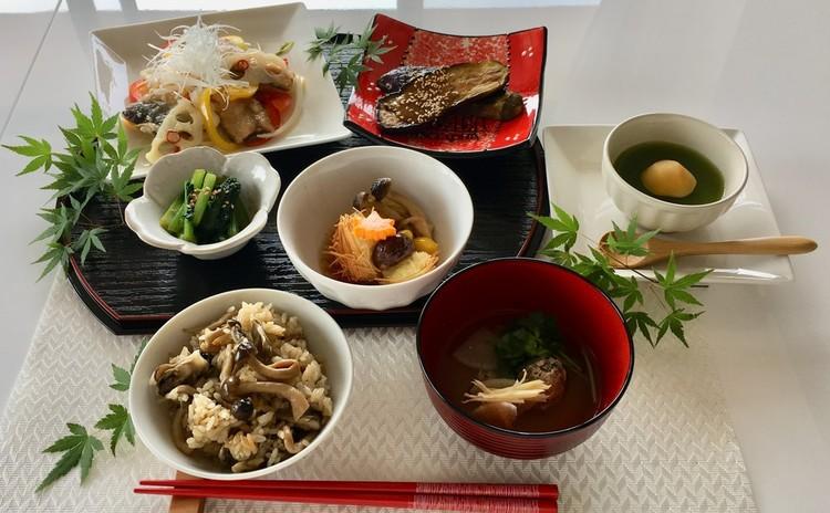 【スイーツorお土産付】秋刀魚の南蛮漬け つみれ汁秋和食メニュー全7品