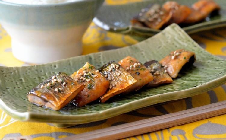 秋刀魚の蒲焼き*甘辛生姜風味