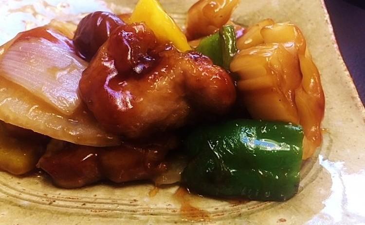 新定番・黒酢酢豚