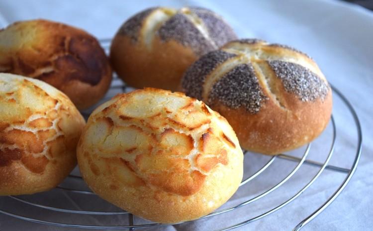 1つの生地で2種類のパン!カイザーゼンメル&タイガーロール