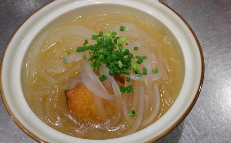 名物豚の春雨スープ仕立て