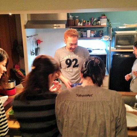 料理教室雑観