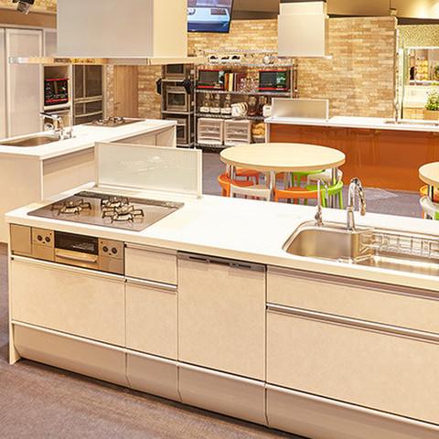 体験型キッチンの最新設備