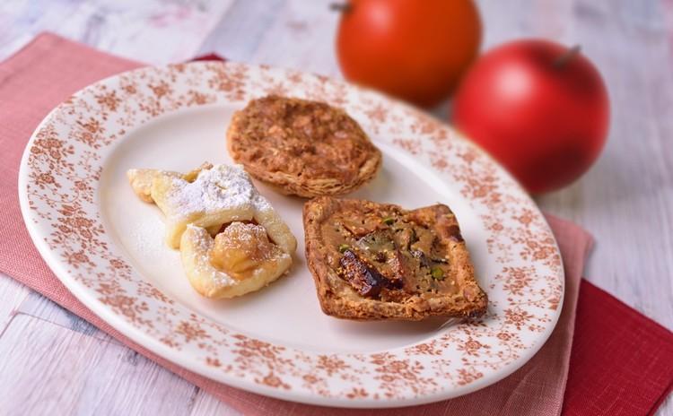 シンプルな秋のタルトでカフェタイム♡砂糖のタルト&ドライフルーツのタルト&りんごのクッキー